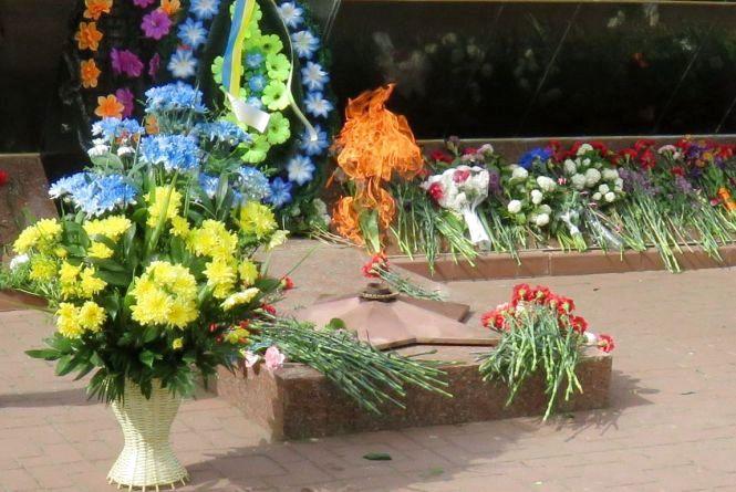Хмельничани вшанують жертв Другої світової війни