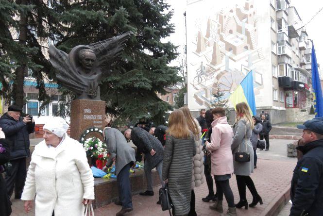 У Хмельницькому вшанували В'ячеслава Чорновола