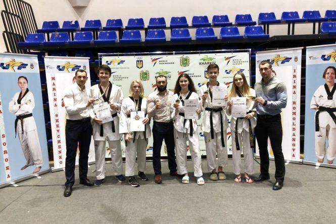 Хмельницькі тхеквондисти здобули нагороди на чемпіонаті України