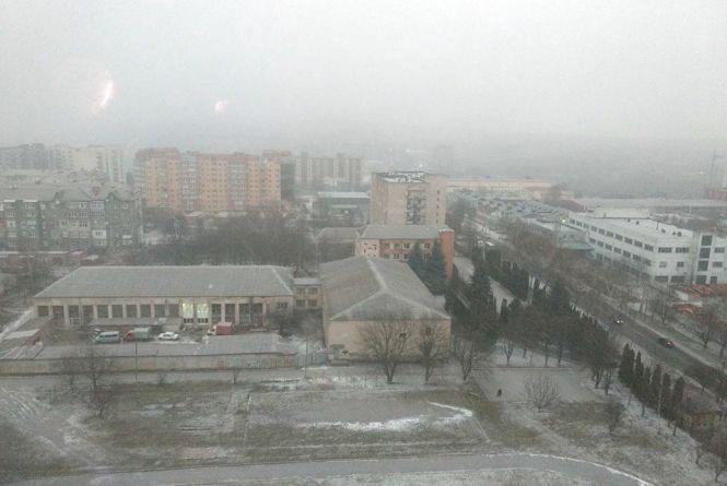 Знову весняний сніг. Прогноз погоди у Хмельницькому на 28 березня