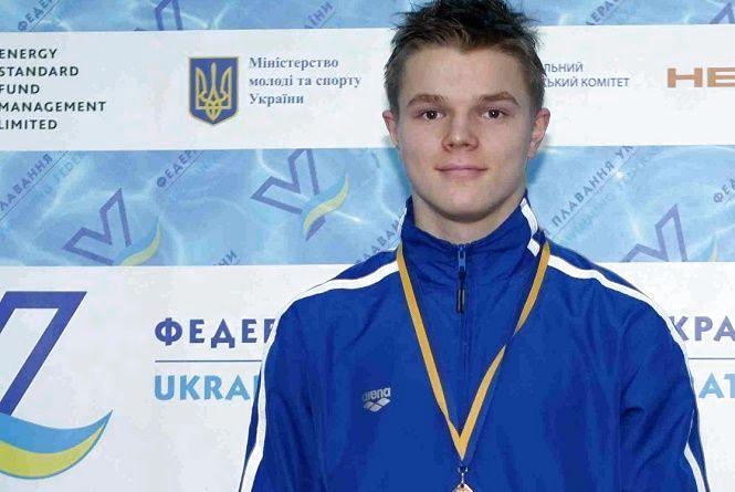 Хмельницький плавець виборов одразу дві нагороди на чемпіонат України