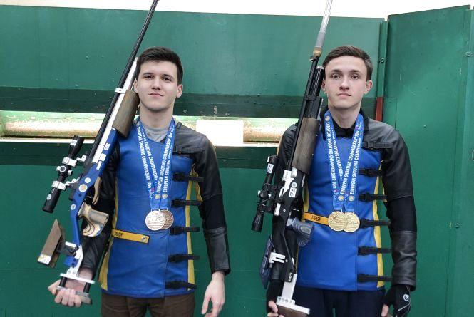 Хмельничани завоювали золото чемпіонату  Європи з стрільби