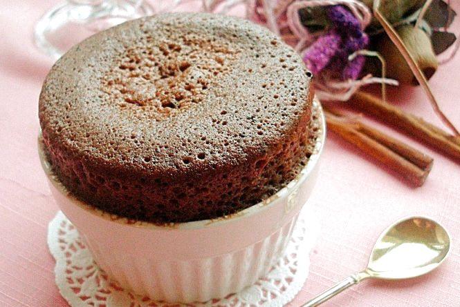 Смачний сніданок: готуємо шоколадний кекс у мікрохвильовці