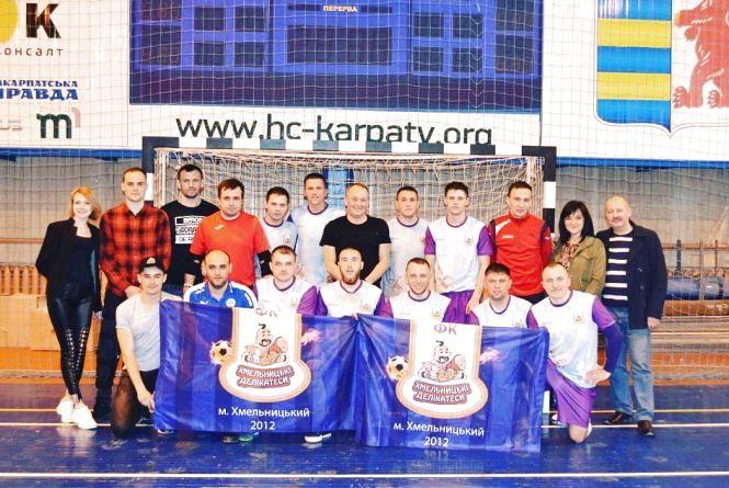 Хмельничанин став кращим воротарем футзального Кубка регіонів
