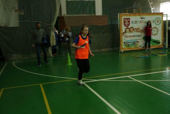 Хмельницькі школярі стали найкращими в ІІ етапі Західноукраїнської ліги з легкої  атлетики