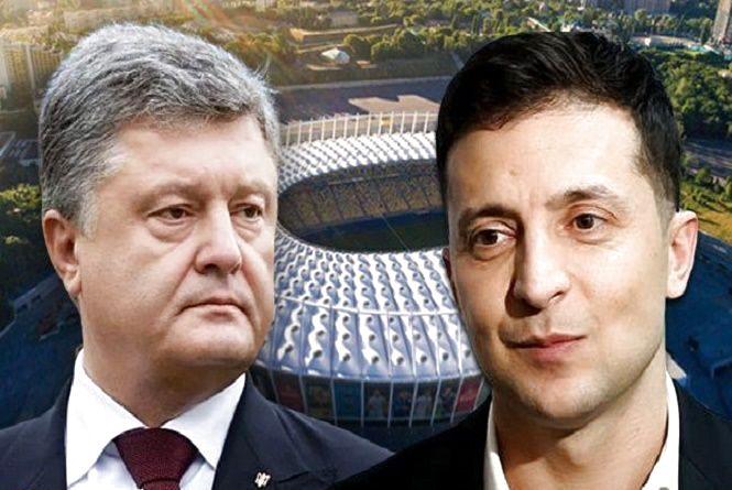 """Дебати на """"Олімпійському"""": кандидатів закликали продавати квитки, щоб допомогти  онкохворим дітям"""