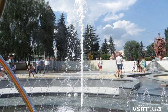 Коли у Хмельницькому запустять фонтани