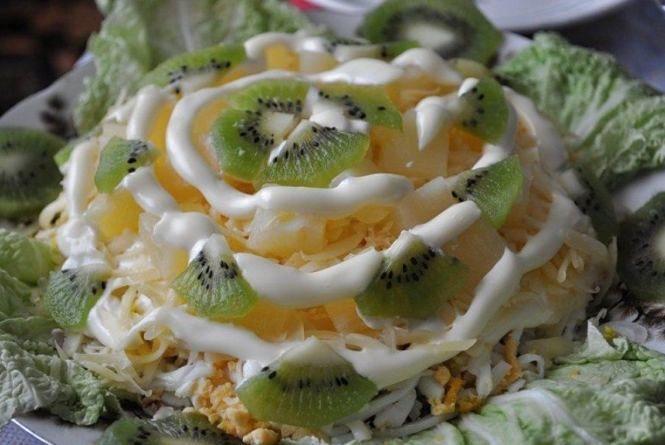 Швидкий сніданок: готуємо екзотичний салат із ківі