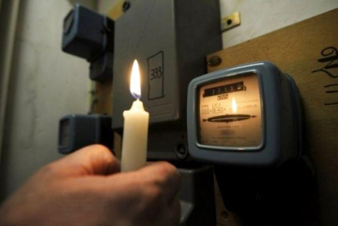 В понеділок на чотирьох вулицях Хмельницького не буде світла