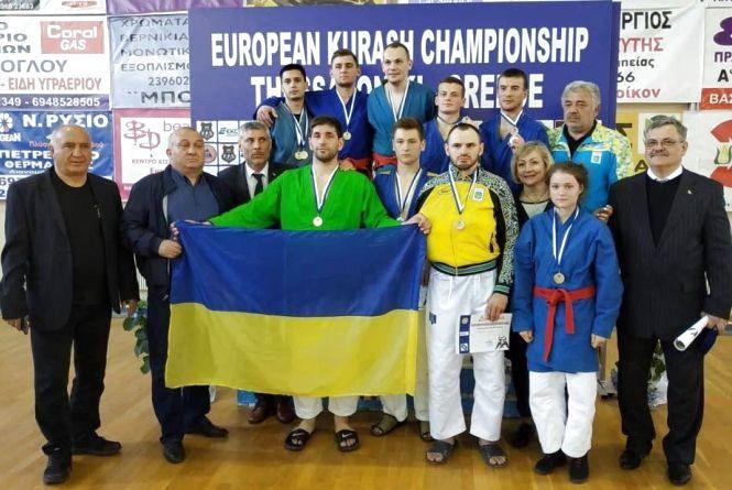 Хмельничани здобули перемогу на чемпіонаті Європи з боротьби