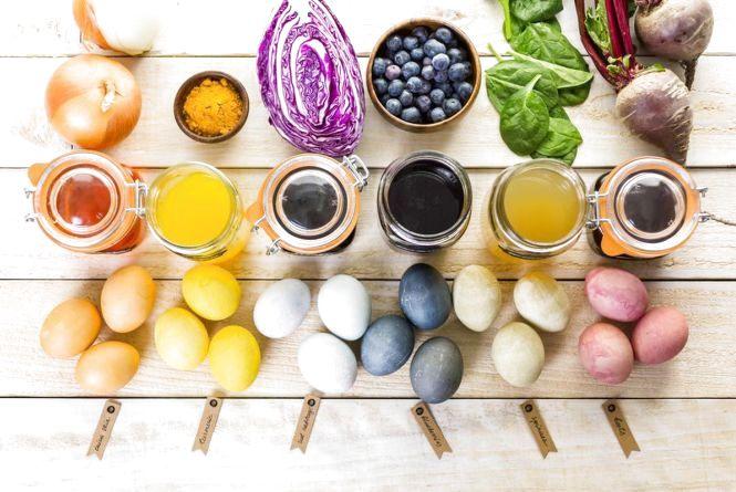Красиво та без хімії: ТОП-5 способів, як розфарбувати великодні яйця