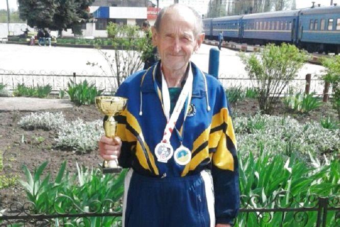 71-річний Микола Оніщук з Красилова став абсолютним чемпіоном України