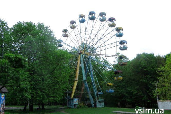 «Чортове колесо» у Хмельницькому хочуть відновити. Вже виділили 240 тисяч