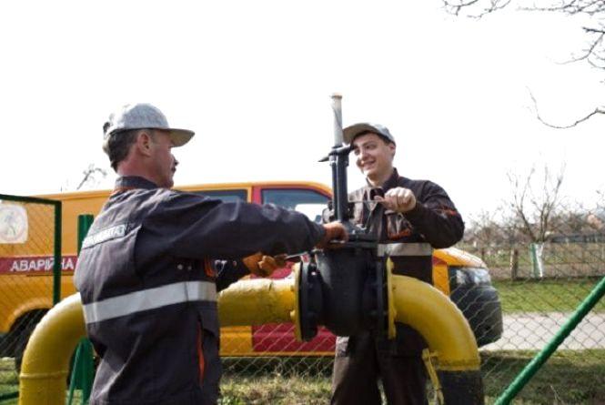 Із 14 травня кілька сіл Волочиського району залишаться без газу