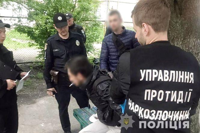 Росіянина затримали з амфетаміном у Хмельницькому