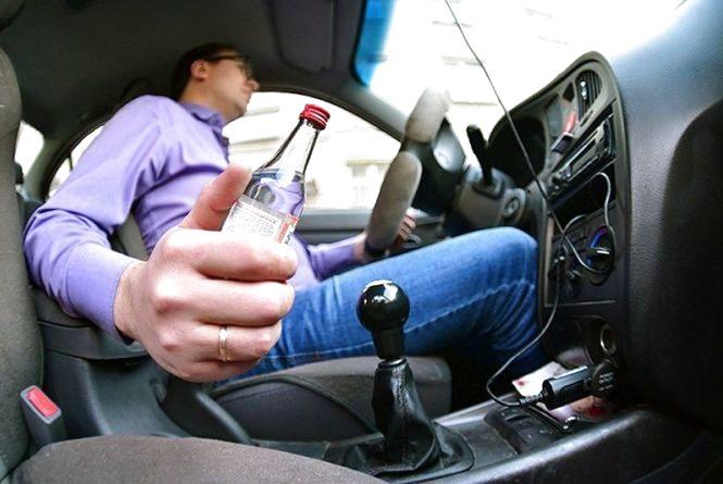 З початку тижня хмельницька поліція оформила 25 п'яних водіїв