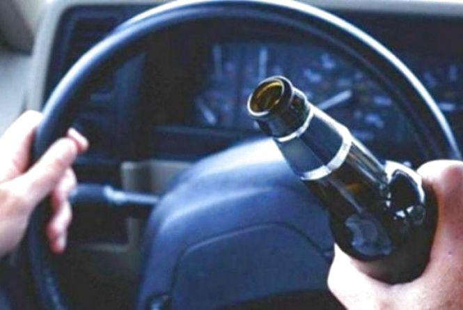 За добу хмельницькі полісмени оформили два десятки п'яних водіїв
