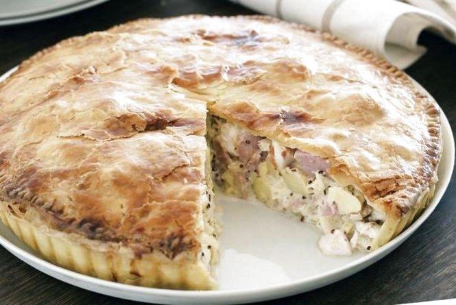 Рецепт дня. Готуємо картопляно-м'ясний пиріг