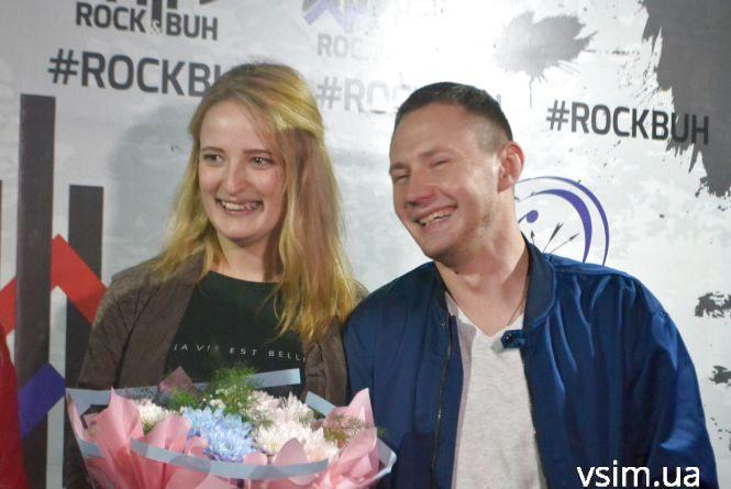 Хмельничанин Андрій оригінально освідчився коханій просто зі сцени «Rock&Buh»