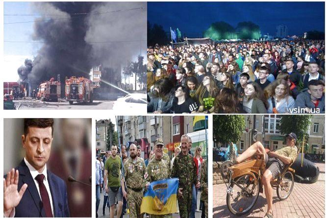 Масштабна пожежа, героїчний марш та драйвовий Rock&Buh: ТОП-5 новин тижня у Хмельницькому