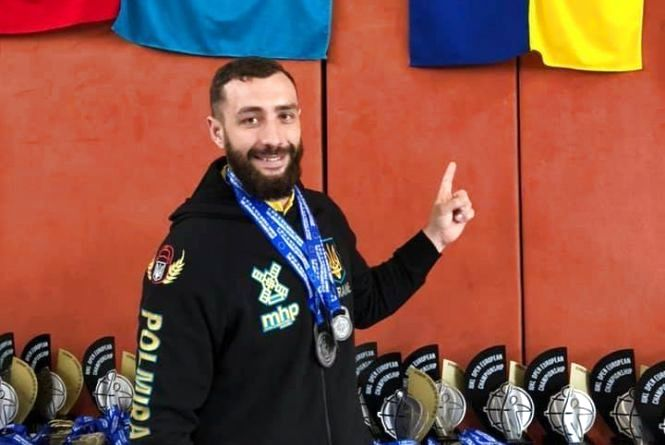 Хмельничанин виборов срібло на Чемпіонаті Європи
