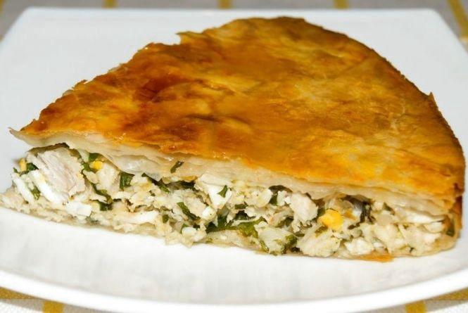 Рецепт дня. Готуємо грецький пиріг