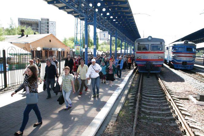 З Хмельницького почав курсувати потяг до Болгарії