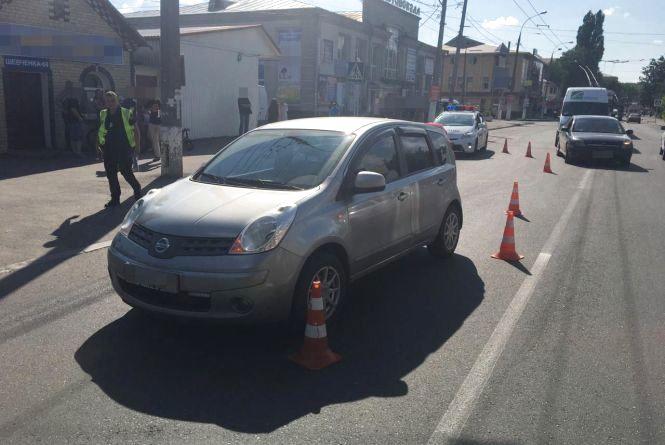 На вулиці Шевченка «Nissan» збив 12-річного хлопчика