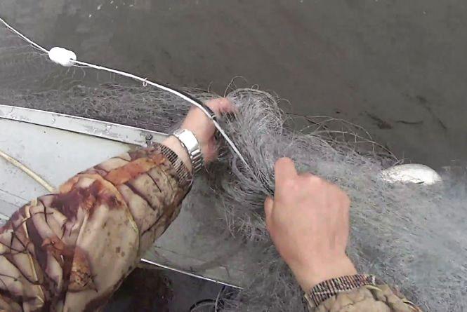 26 тисяч гривень штрафу отримав мешканець Хмельниччини за рибалку з сітями