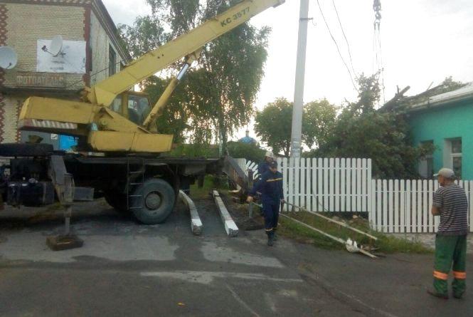 У Новій Ушиці величезне дерево впало на Будинок дитячої творчості