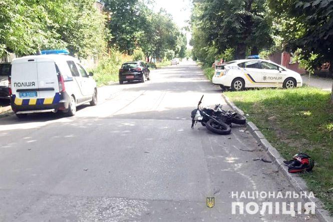 У Кам'янці у ДТП постраждав  26-річний мотоцикліст