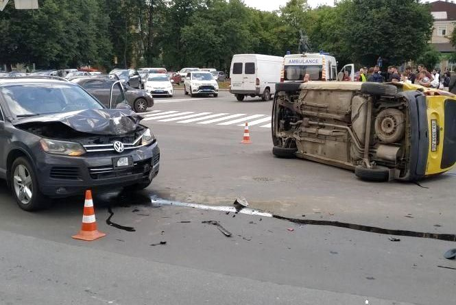 За день на Хмельниччині зафіксували 14 аварій