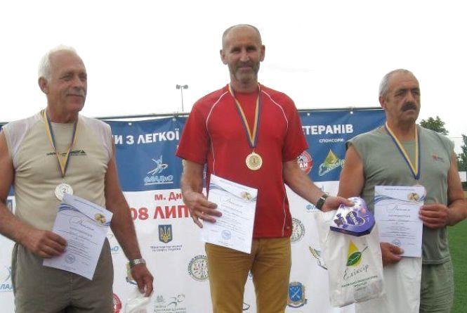 60-річний хмельничанин здобув золоту медаль на змаганнях з легкої атлетики