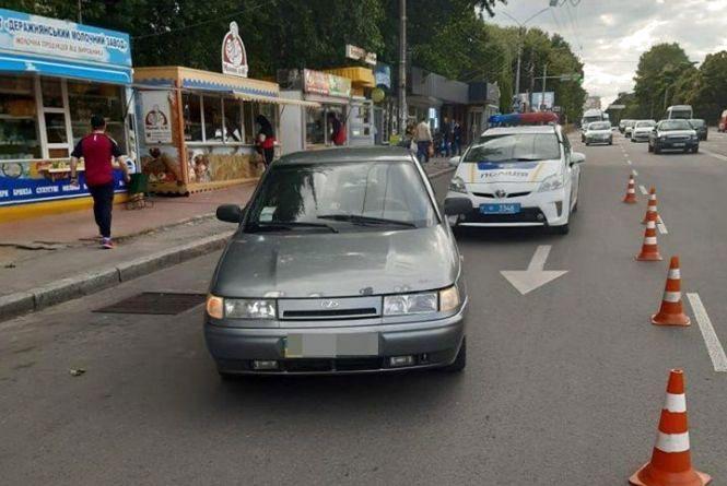 Поліція розшукує винуватця ДТП, що сталась на Проспекті Миру