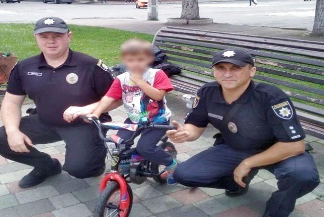 """У Хмельницькому знайшли 4-річного хлопчика, який """"втік"""" з дому"""