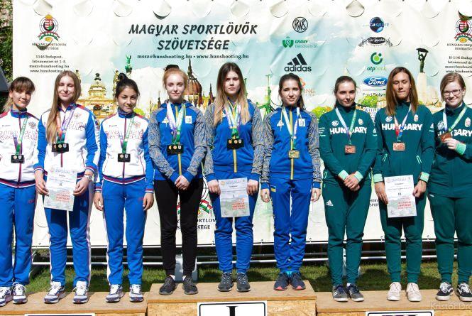 Хмельничани настріляли медалі на чемпіонаті в Угорщині