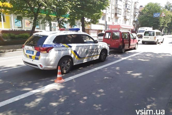 Збитий велосипедист та побиті автівки: хроніка ДТП у Хмельницькому