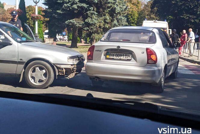 В аварії на Гагаріна травмувалася жінка (ФОТО)