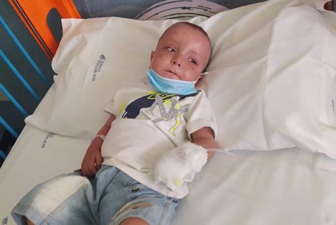 На лікування 3-річного Сашка з Хмельницького потрібно 19 тисяч євро