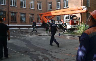 Пожежа у школі №1: що сталося та які причини