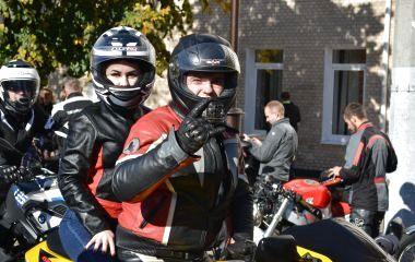 Під рев моторів байкери закрили мотосезон у Хмельницькому (ФОТО)