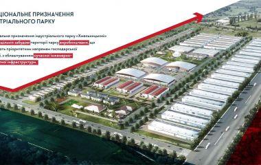 Що буде на території індустріального парку «Хмельницький» (КАРТА)