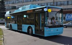 Чотири нових тролейбуси вже у Хмельницькому. Коли їх випустять на маршрут