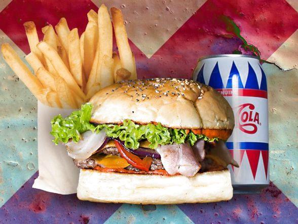 uncle sam double burger